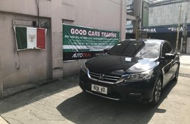 Honda Accord 2014 Gasoline Automatic Black for sale