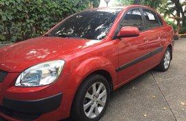 Kia Rio 2008 Unleaded Automatic Red for sale