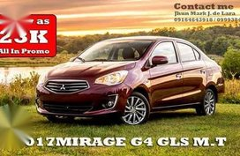 2017 Mitsubishi Mirage G4 Gls Manual for sale