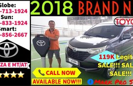 Brand All New Toyota Avanza 2018 E AT Lowest DP Monthly Promo Sale