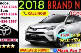 2018 Toyota Rav4 Active 4x2 AT All In Lowest DP Promo For Sale