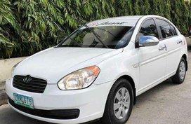 Hyundai Accent CRDI White 2008 FOR SALE