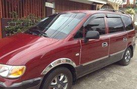 Hyundai Trajet Gold 2.2 Crdi Red SUV For Sale