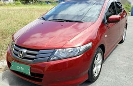 Honda City 2010 Automatic Red Sedan For Sale