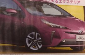 Toyota Prius 2018 facelift revealed in a Japanese magazine