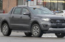 [Spy shots] Ford Ranger T6 WildTrak 2019 facelift caught in the US