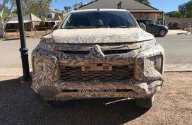 [Spy shots] Mitsubishi Strada 2019 wearing camouflage caught in Australia