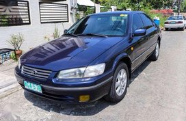 Camry Toyota 1999 AT Dark blue color Automatic tramsmission