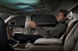 Volvo S90 Ambience Concept revealed, focusing on boosting human senses