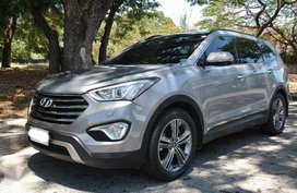 2015 Hyundai Grand Santa Fe AT Diesel CRDI Silver Top of the Line Casa