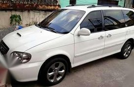 Kia Carnival rs 2003 for sale   fully loaded