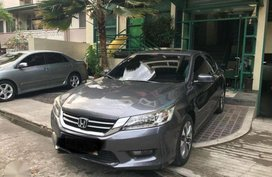HONDA Accord 3.5 2014 Gray Sedan For Sale