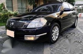 2009 NISSAN TEANA AT Black For Sale