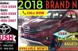 2018 Toyota Rush E Manual New Product Gas 1.5 MT