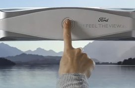 Future tech: Ford's Feel The View supports visually-impaired occupants