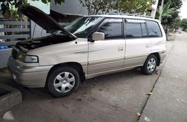 Mazda MPV White Well Maintained For Sale