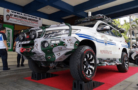 Philippine National Police presents their new Montero-based MPPV