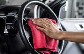 Easy cleaning tips for 5 different types of steering wheel