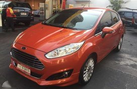2016 Ford Fiesta S Ecoboost Tiptronic