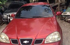 Chevloret Optra 2004 AT Red Sedan For Sale