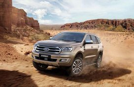 Ford Everest 2019 comes armed with Ranger Raptor's powertrain