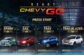 Ready - Chevy - Go promo ready to run with exciting deals