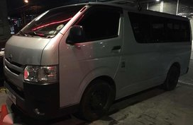 2016 Hiace Commuter 30 Manual Silver