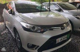 2017 Toyota Vios G Pearl White Manual Transmission