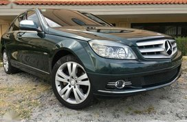 2007 Mercedes Benz C200 Kompressor Avantgarde low mileage
