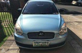 Hyundai Accent 2008 Blue Sedan For Sale