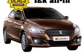 Suzuki Ciaz GL MT/AT 2018 for sale