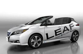 Nissan Leaf Open Car unveiled but not likely to go into production