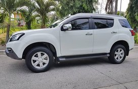 Isuzu MUX 2016 December LS-A 4x4 Pearl White for sale