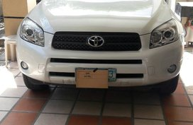 Toyota RAV4 2008 AT Pearl White for Sale - Paranaque, Metro Manila