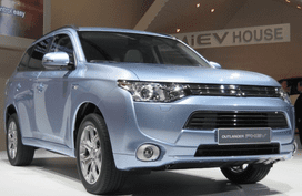 Mitsubishi Motors Corp. is due to produce plug-in hybrid in Thailand
