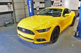 100% Sure Autoloan Approval Ford Mustang 2.3L Ecoboost 2018