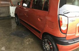 Fresh Kia Visto 2008 Manual Orange For Sale