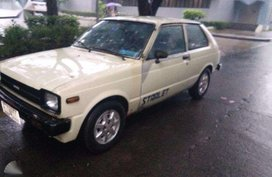 Toyota Starlet 2dr 81 FOR SALE
