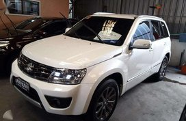 2016 Suzuki Grand Vitara SE White AT