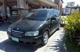 Fresh Hyundai Trajet 2010 Black Van For Sale