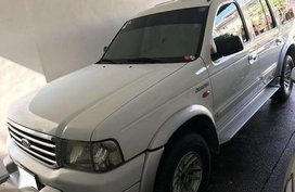 Ford Everest SUV 2003 White SUV For Sale
