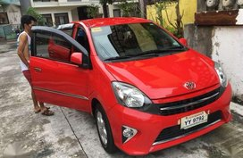 Toyota Wigo G 2016 MT Red HB For Sale