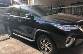 2016 Toyota Fortuner G 4x2 Black Automatic For Sale