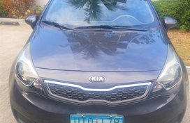 2013 Kia Rio EX 1.4 AT Sedan Gray For Sale