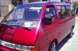 Nissan Vanette Van 1993 Manual Red For Sale