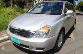 Kia Carnival 2013 CRDI Silver Van For Sale