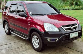 2003 Honda CRV Automatic Red For Sale