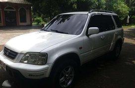 Honda CRV 1999 AT White Fresh For Sale