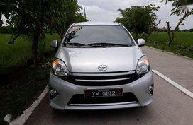 Toyota Wigo G 2016 Manual Silver For Sale