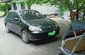 Toyota Corolla Altis Black 2004 Model For Sale